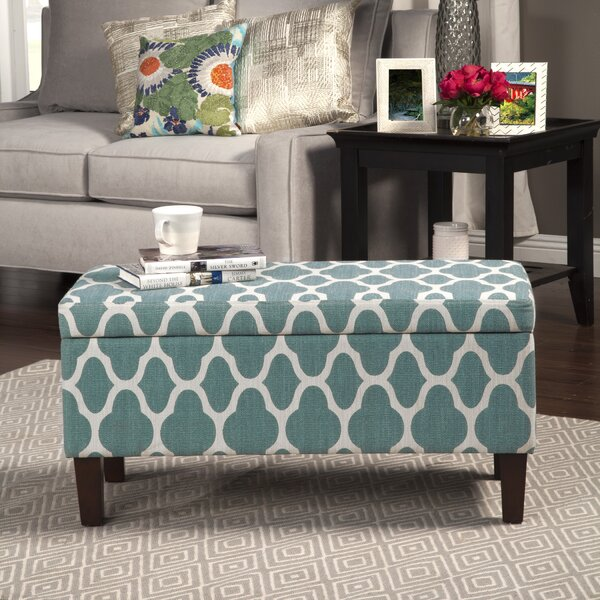Clare Tokatli Upholstered Storage Bench by Latitud