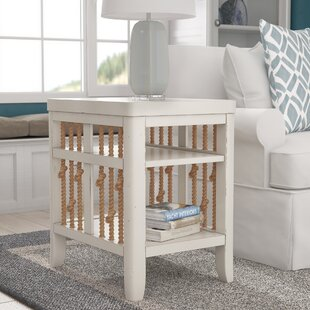 Great choice Chaz Chairside Table By Beachcrest Home