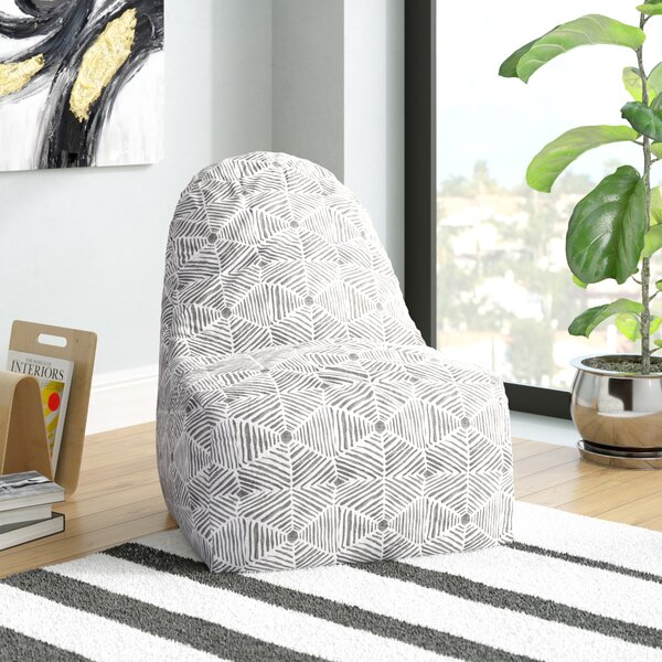 Ashby Small Bean Bag Chair & Lounger By Trule Teen