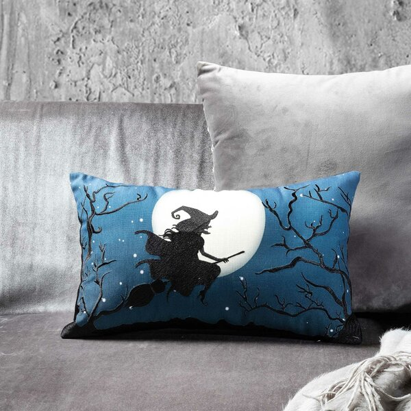 Witches Night Out Lumbar Pillow by 14 Karat Home Inc.| @ $21.99