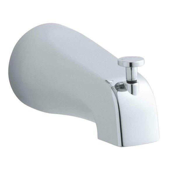 Coralais 4-7/8 Diverter Bath Spout with Npt Connection by Kohler