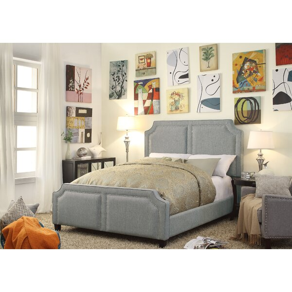 Rauscher Queen Upholstered Standard Bed by Charlton Home