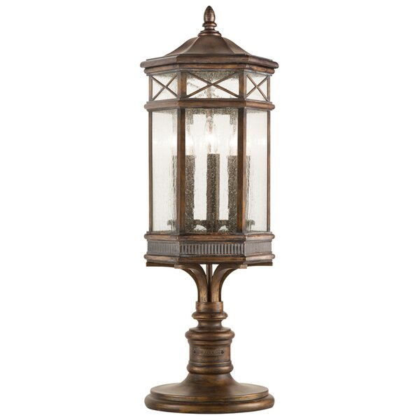 Holland Park Outdoor 3-Light Pier Mount Light by Fine Art Lamps