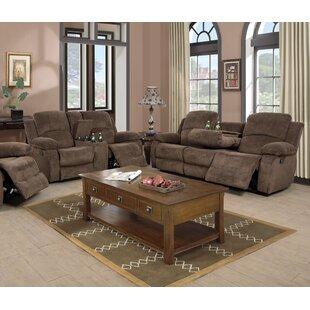 Markon 2 Pieces Recling Living Room Set by Latitude Run®