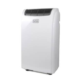 Black Decker 14 000 Btu Energy Star Portable Air Conditioner With Heater And Remote Reviews Wayfair