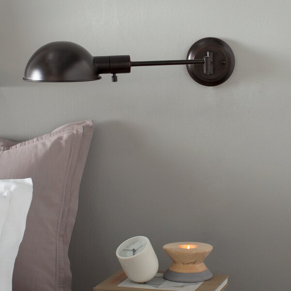 Clearmont 1-Light Swing Arm Lamp by Laurel Foundry