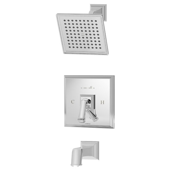 Oxford Diverter Tub And Shower Faucet With Trim By Symmons