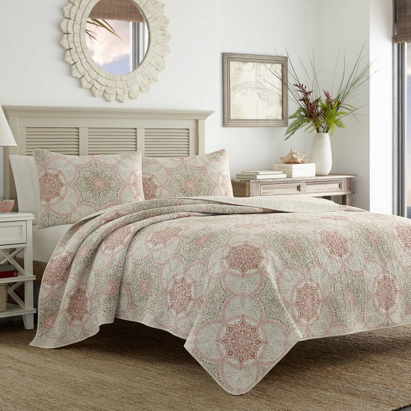 Tommy Bahama Bedding Palm Channel Reversible Quilt Set by Tommy ...