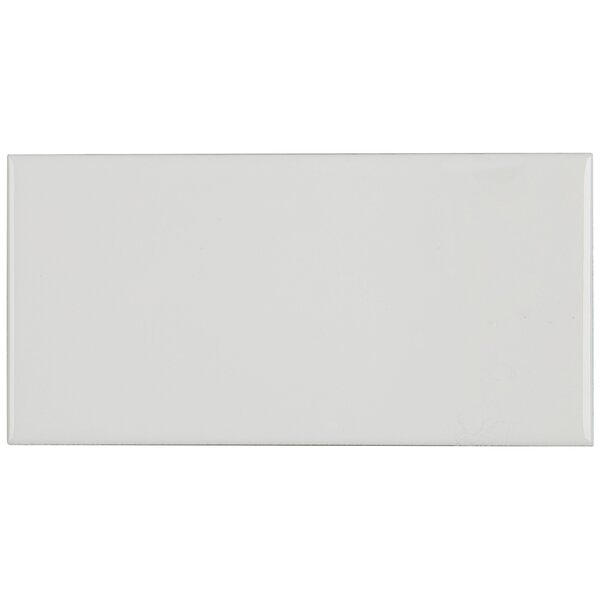 3 x 6 Ceramic Subway Tile in White by Itona Tile