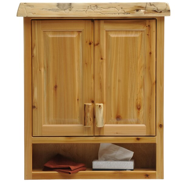Cedar 32 W x 36 H Wall Mounted Cabinet by Fireside Lodge