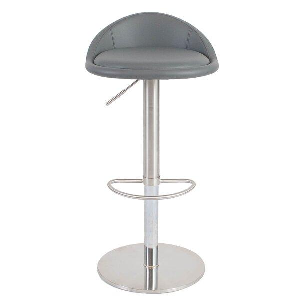 Mcgee Adjustable Height Swivel Bar Stool by Orren Ellis