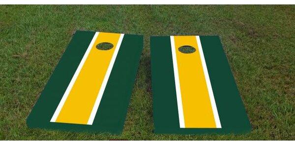 Packers Cornhole Game (Set of 2) by Custom Cornhole Boards