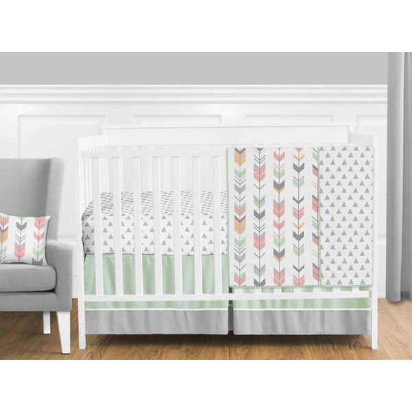 Mod Arrow 11 Piece Crib Bedding Set by Sweet Jojo Designs