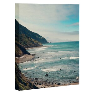 California Pacific Coast Highway Photographic Print on Canvas by East Urban Home