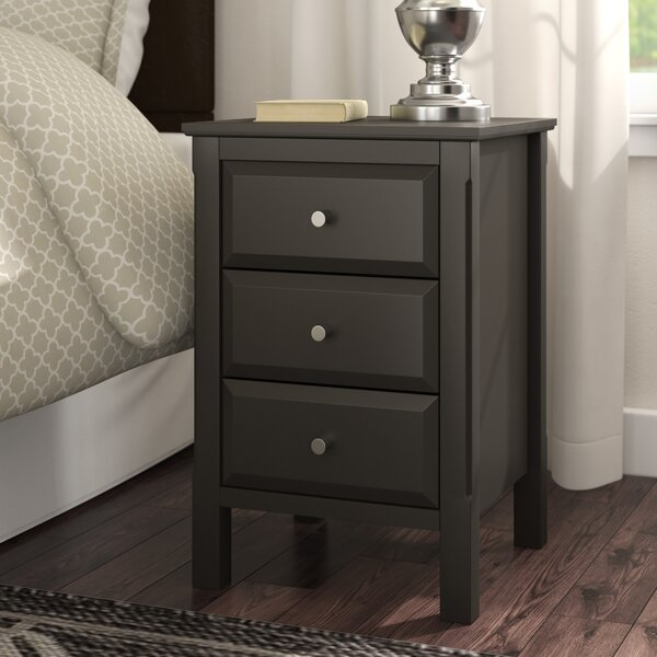 Steelman End Table with Storage by Charlton Home