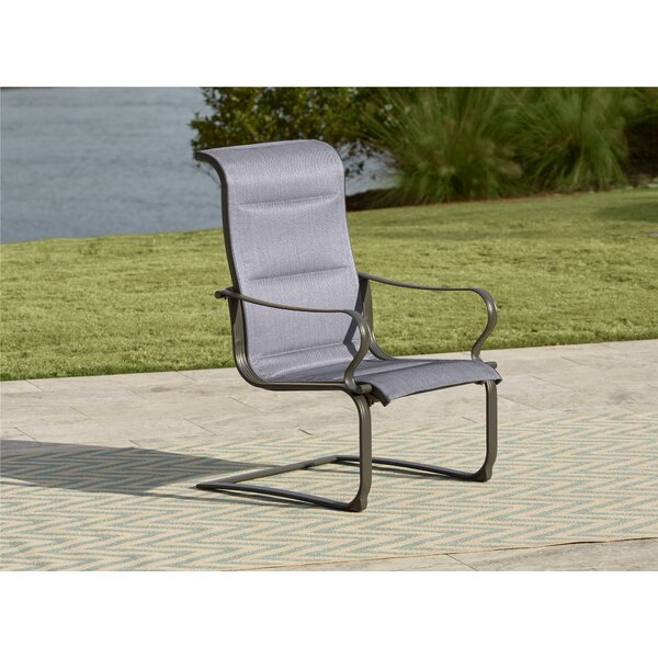 Coyle Tool-Free Patio Dining Chair (Set of 2) by R