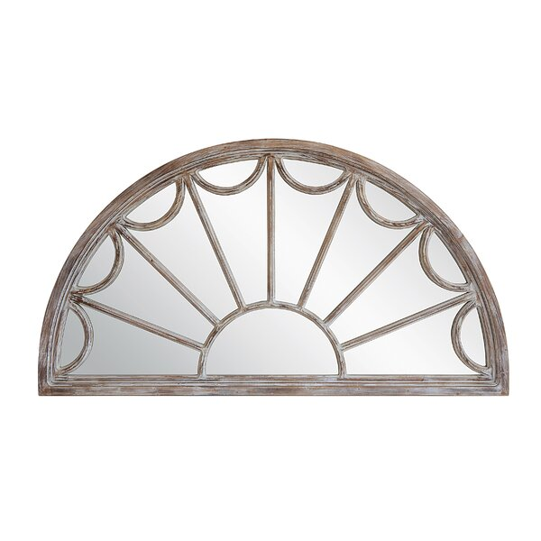 Veiga Half Wall Mirror by Ophelia & Co.