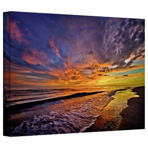 The Sunset' by Antonio Raggio Photo Graphic Print on Canvas by Beachcrest Home