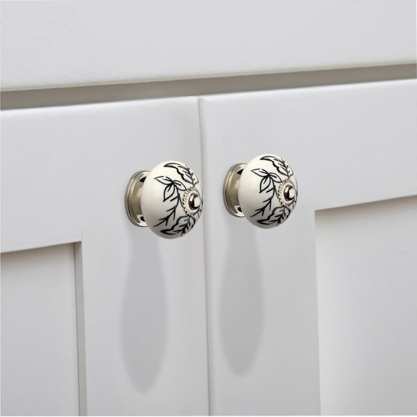 Designer Cabinet Round Knob (Set of 8) by Mascot Hardware