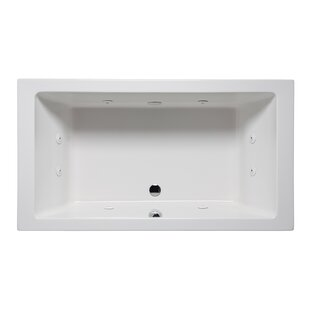 Vivo 66 x 36 Drop in Whirlpool Bathtub