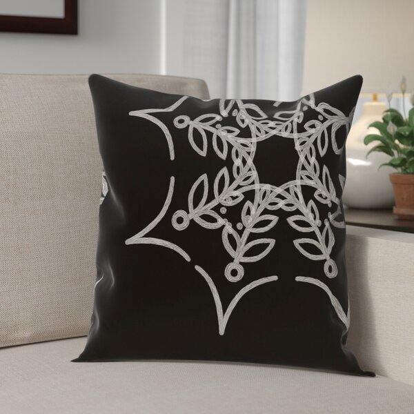 Web Art Holiday Print Outdoor Throw Pillow by The Holiday Aisle