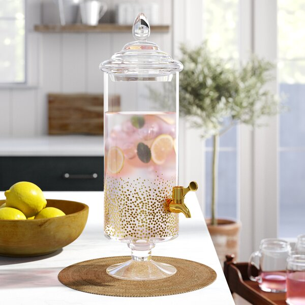 Gold Luster Drink Dispenser by Birch Lane™