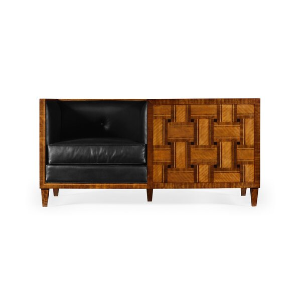 Transitional Loveseat by Jonathan Charles Fine Furniture