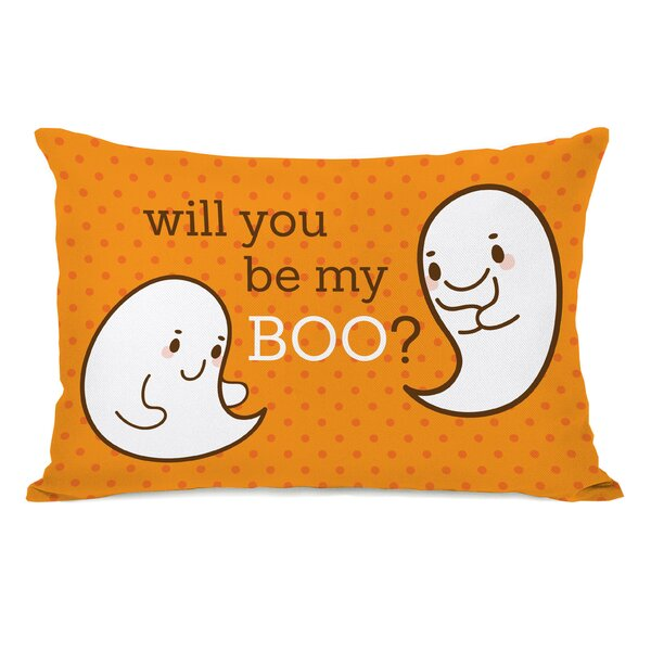 Be My Boo Lumbar Pillow by One Bella Casa