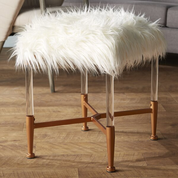 Mireille Acrylic Bench by Statements by J