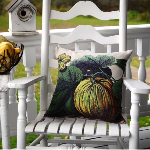 Pumpkin Pillow Cover by Golden Hill Studio