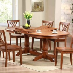 Extending Dining Room Table iconic furniture extendable dining table & reviews | wayfair