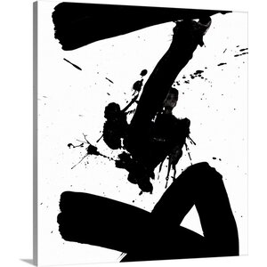 Ink Blot IV by PI Galerie Painting Print on Wrapped Canvas by Great Big Canvas