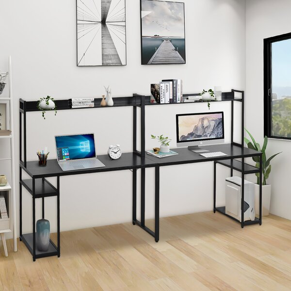 Home Office Double Workstation Desk
