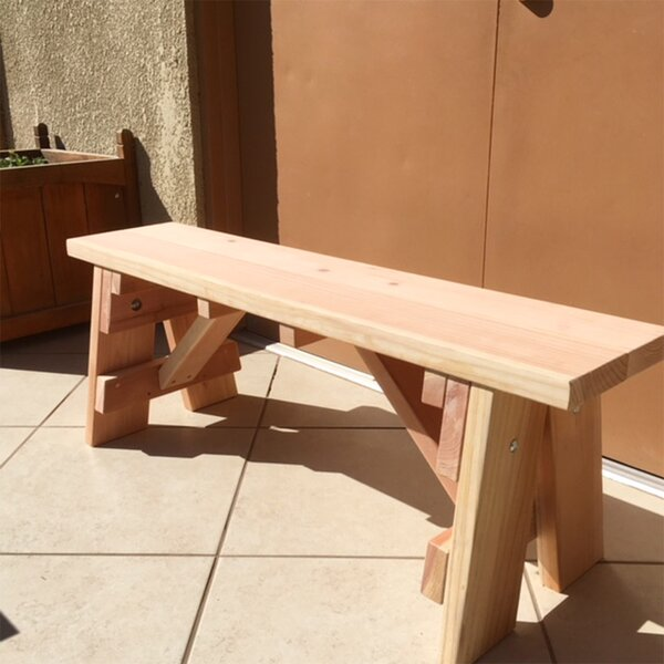 Sherwin Wooden Picnic Bench by Freeport Park