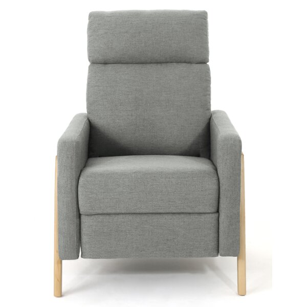 Hepp Modern Manual Recliner by Wrought Studio
