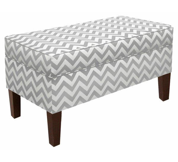 Emilie Upholstered Storage Bench by Skyline Furniture