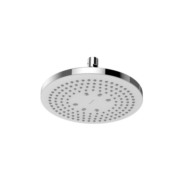 G Series Round Single Spray Rain Shower Head with Comfort Wave™ Technology by Toto