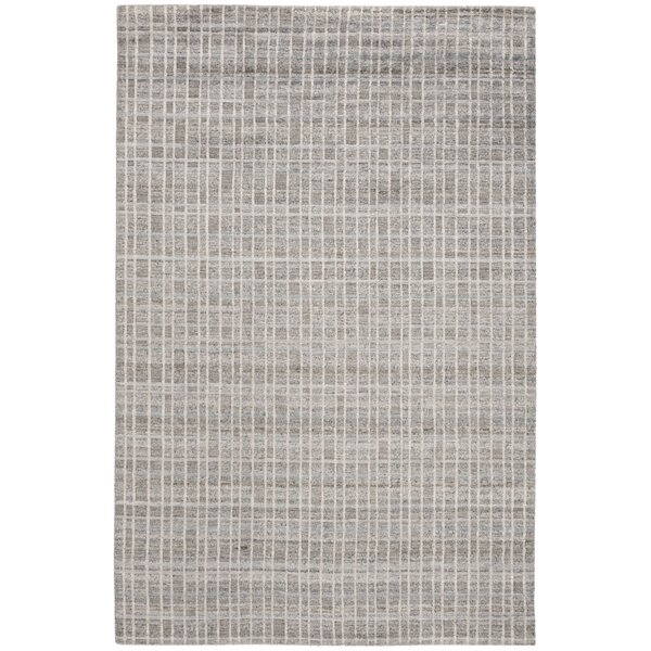 Oliveri Hand-Woven Gray Area Rug by Orren Ellis