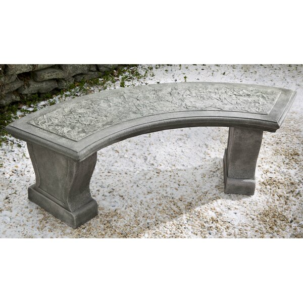 Hae Curved Leaf Bench by Darby Home Co
