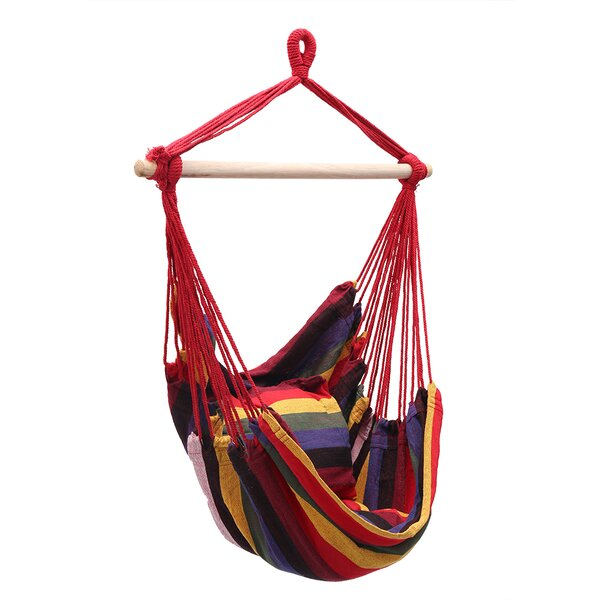 Ryans Hanging Rope Chair Hammock by Bungalow Rose