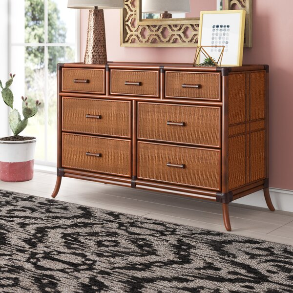 Lamont Triple 7 Drawer Dresser by Bay Isle Home