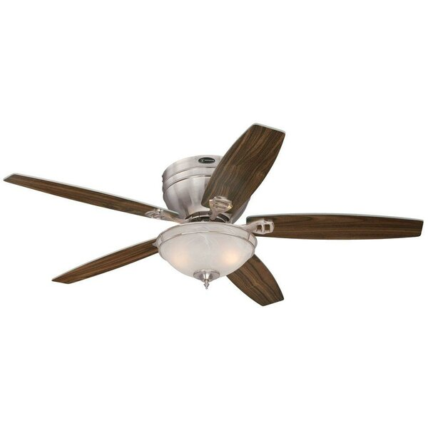 52 Boulder Brook Traditional 5 Blade Ceiling Fan by Andover Mills