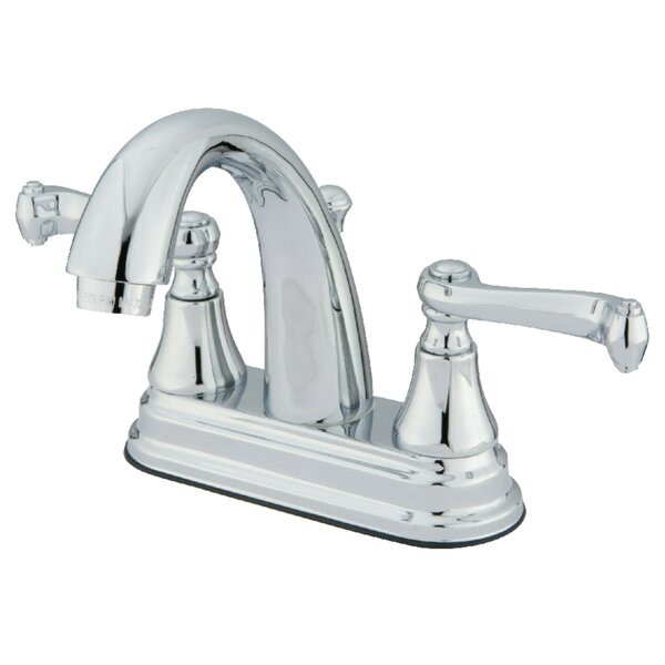 Elizabeth Centerset Bathroom Faucet with Drain Assembly by Elements of Design Elements of Design