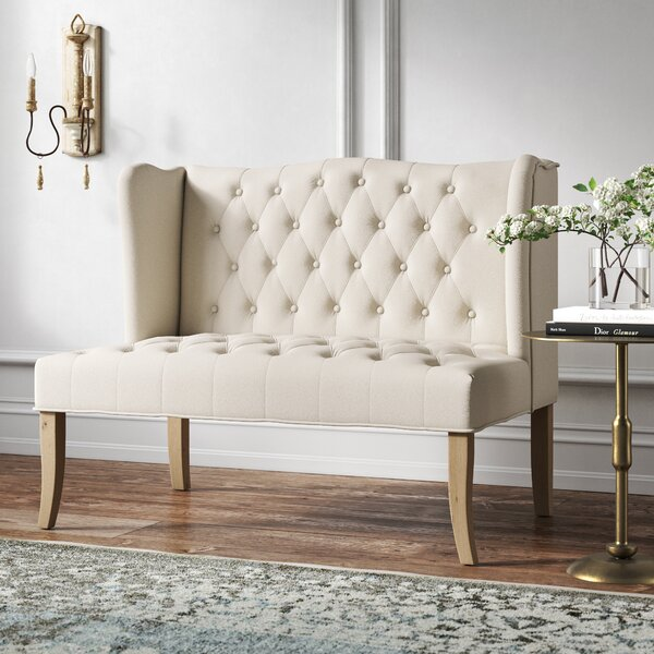 Cyrus 43.3'' Armless Loveseat By Kelly Clarkson Home