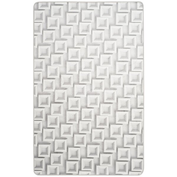 Cahoon Abstract Power Loomed Ivory Area Rug by Orren Ellis