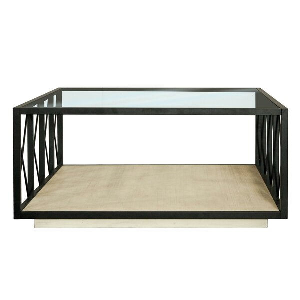 Racheal Floor Shelf Coffee Table by 17 Stories 17 Stories