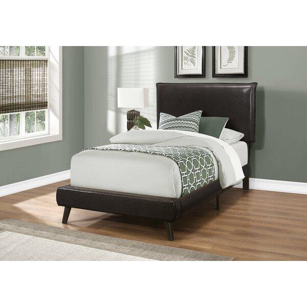 Weitzman Upholstered Standard Bed by Wrought Studio