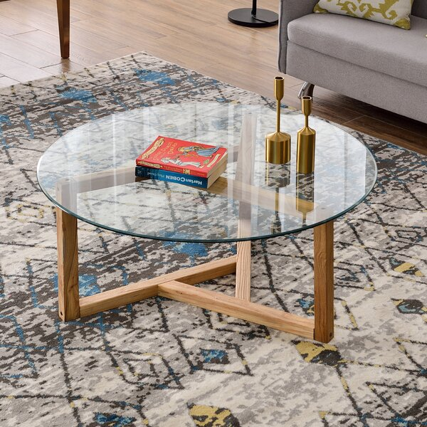 Lela Frame Coffee Table By Union Rustic