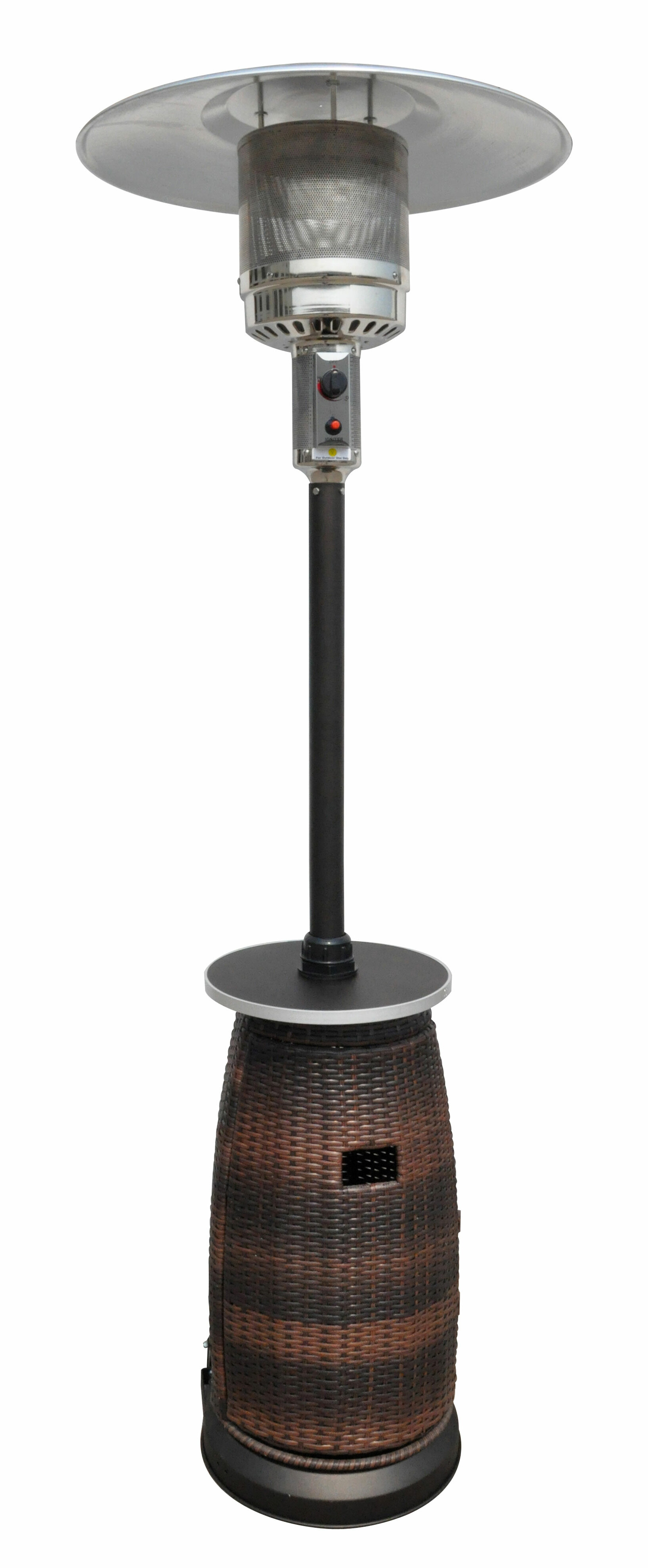 AZ Patio Heaters Tall 41 000 BTU Propane Patio Heater & Reviews