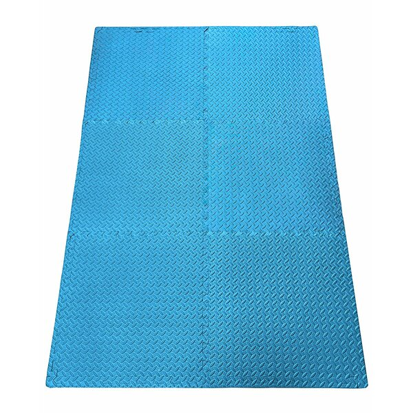 Anti-Fatigue Exercise Puzzle Foam Mat Tile by Ottomanson